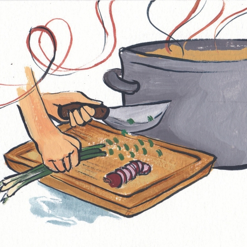Smelly Pot (Gouache Painting)